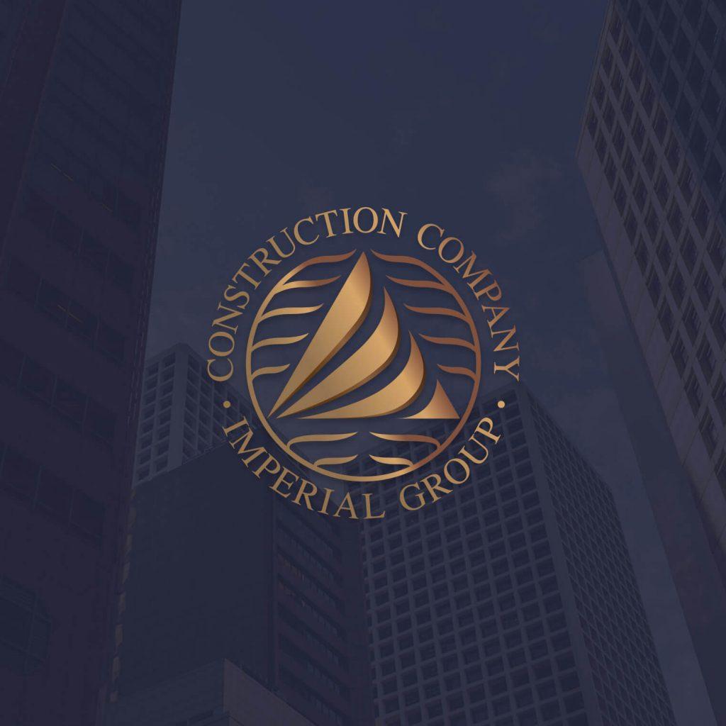 Логотип строительной компании IMPERIAL GROUP